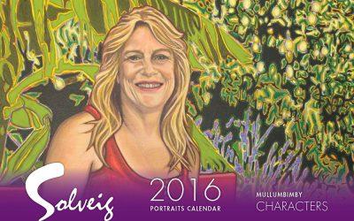 Solveig releases 2016 Portraits calendar