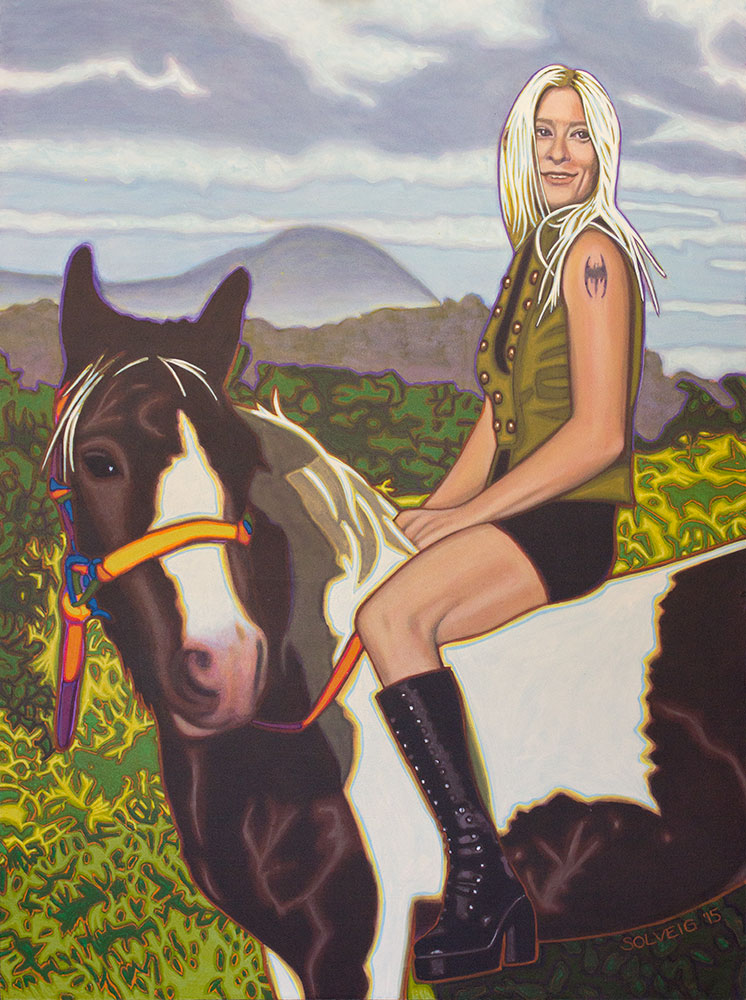 Ash-Stennett - Horse Mistress - Wall art online.