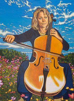 Claire Yerbury - Reclusive Talent - Portrait - Buy wall art.