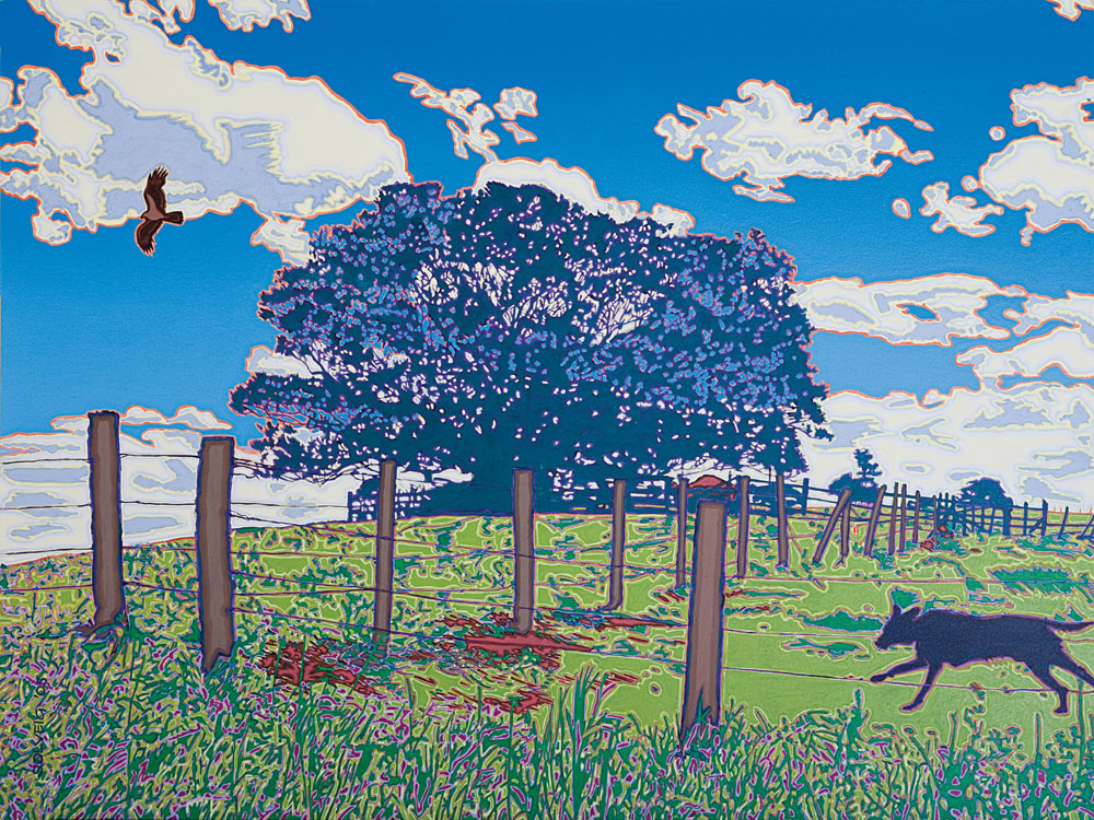 Country Energy - Artwork of landscape