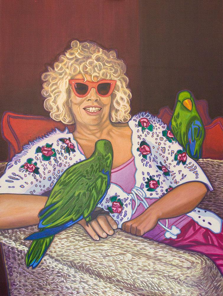 Jacquie Sands – Bird Whisperer – Original Portrait