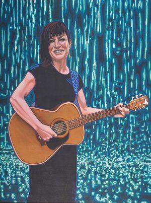 Rebecca Ireland - Singing for Rain - Original Portrait