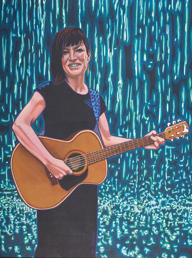Rebecca Ireland – Singing for Rain – Original Portrait
