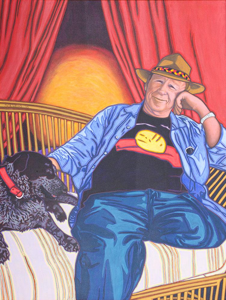 Tony Barry  – Actorvist – Original Portrait
