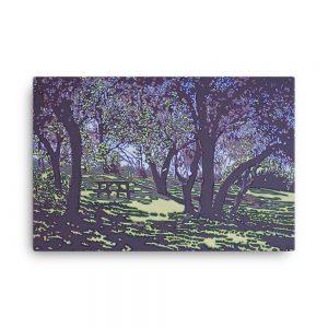Canvas Print - Sunlit