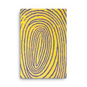Canvas Print - Fingerprint