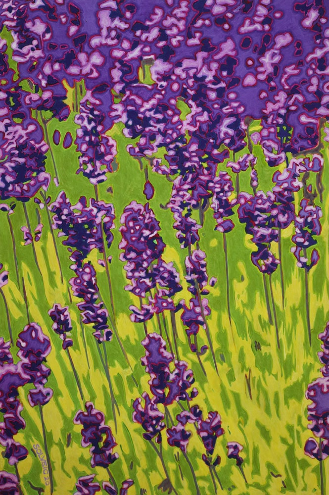 Lavender – Say it with Flowers Series – Original