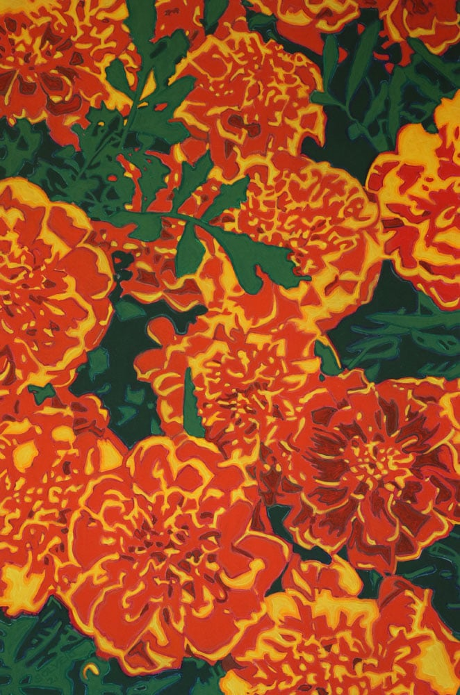 Marigolds – Say it with Flowers Series – Original