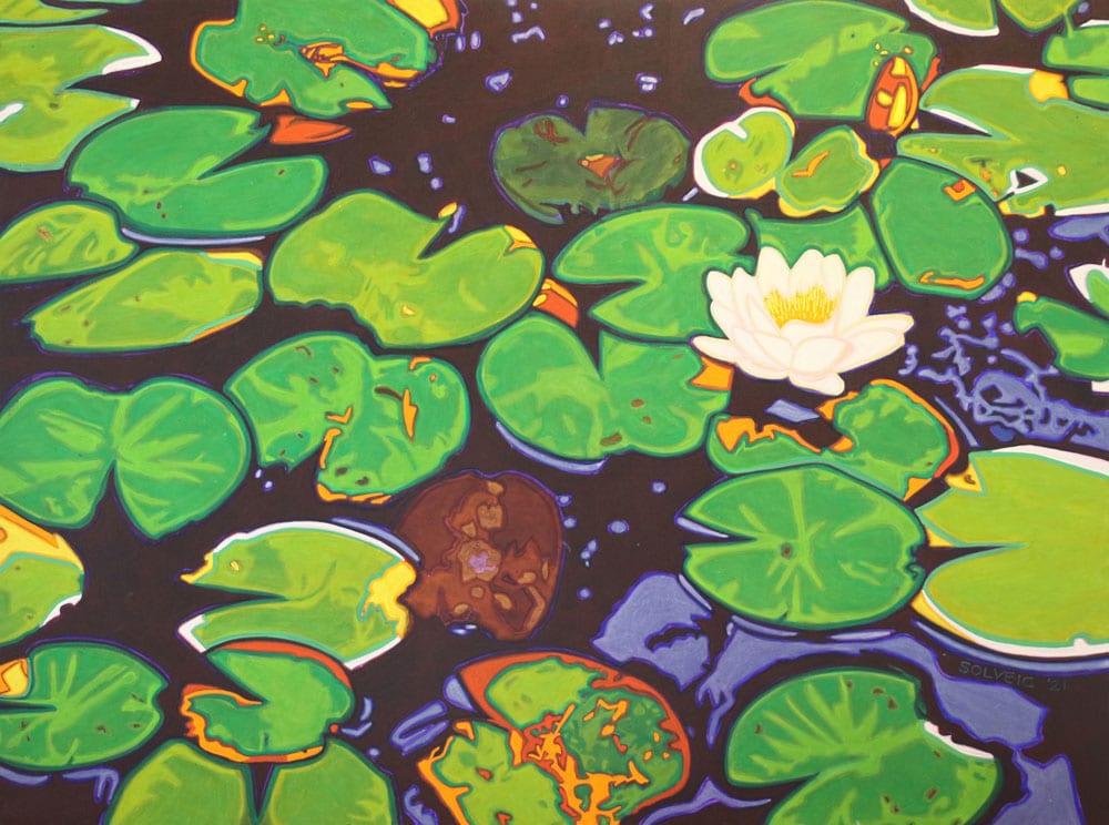 Ode to Monet – Original